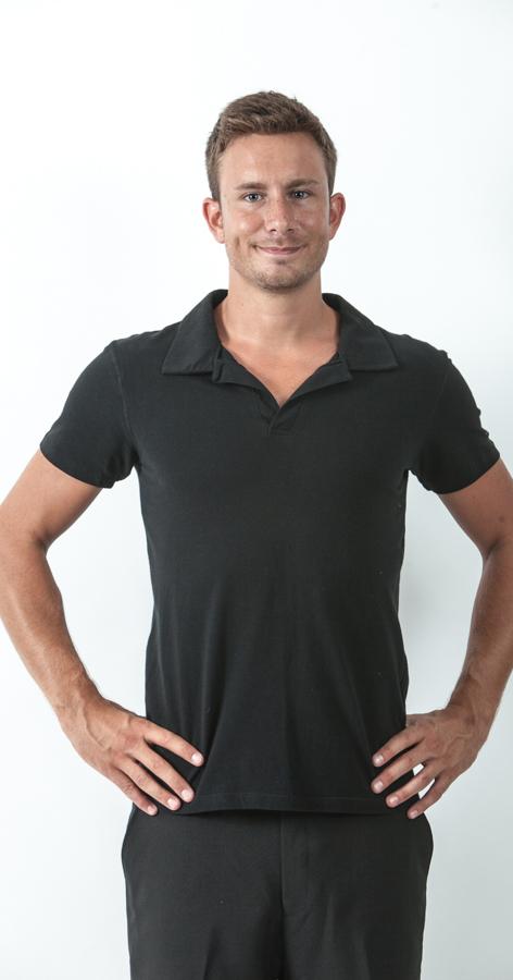 חולצת פולו לייקרה לגבר