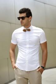 חולצת אלגנט גזרת סלים פיט