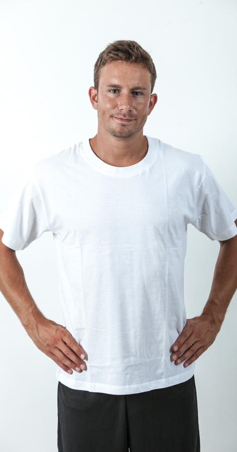 חולצה לבנה לגבר